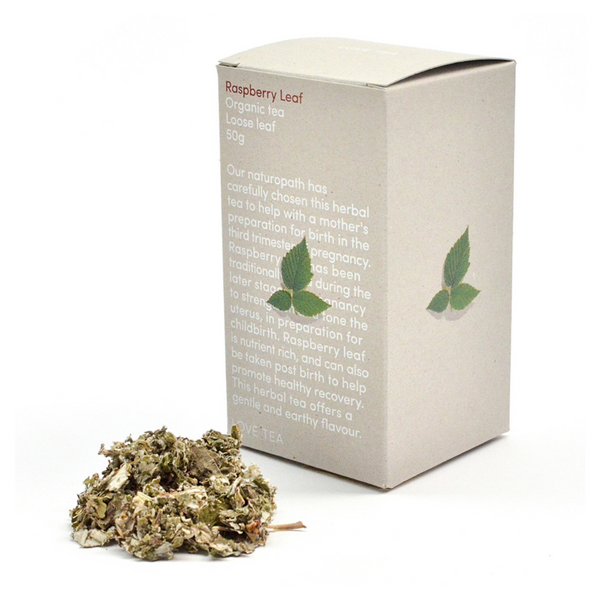 LOVE TEA Organic Raspberry Leaf 50g