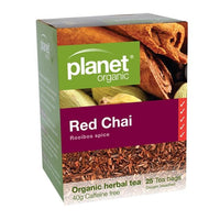 PLANET ORGANIC Herbal Tea Bags Red Chai 25