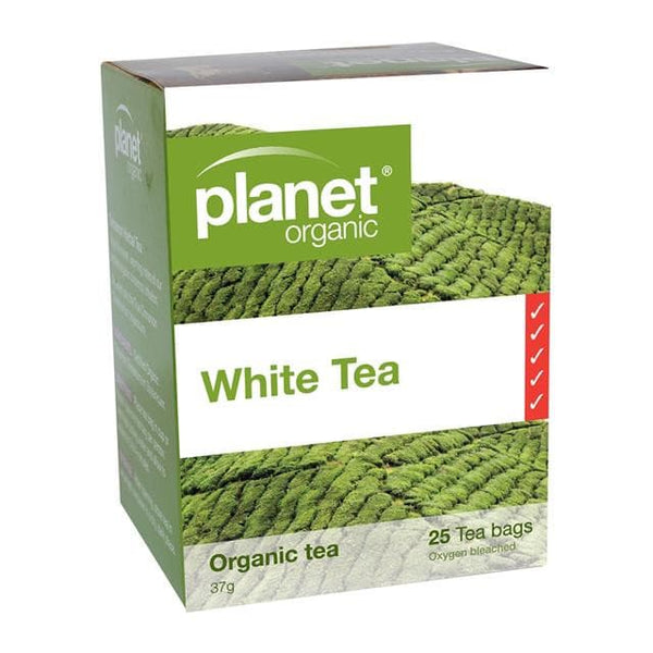 PLANET ORGANIC Herbal Tea Bags White Tea 25