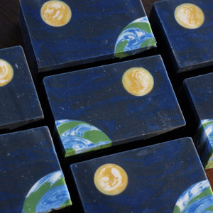 Earth and Moon Handmade Soap