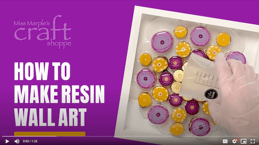 How To Make Resin Wall Art