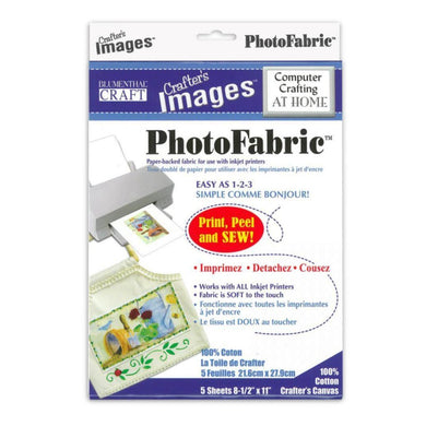 Photo Fabric Canvas Sheets - 8.5