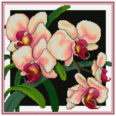Country Threads Pink Phallys 25cm x 25cm #FJP-2010