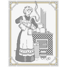 Load image into Gallery viewer, Country Threads - Country Wife (Blackwork)