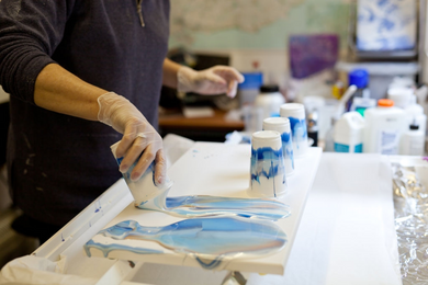 Pour Painting Class - November 14th