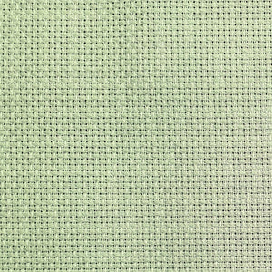 Aida 14 Count - Moss Green 110cm Wide