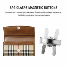 Load image into Gallery viewer, Magnetic Handbag Buttons Large Antique Brass