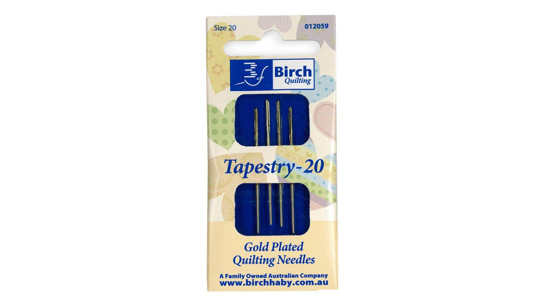 Birch Tapestry Needles #20