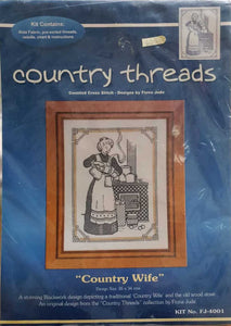 Country Threads - Country Wife (Blackwork)