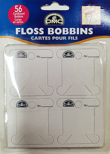 DMC Thread Bobbins Card Floss