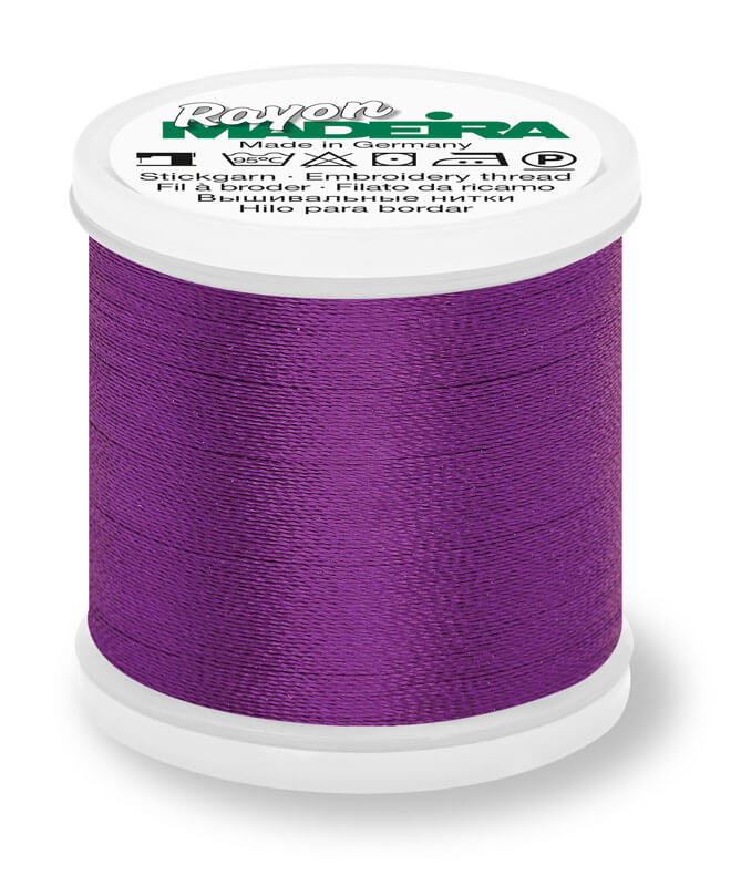 MADEIRA RAYON 40 1000M MACHINE EMBROIDERY THREAD 1033