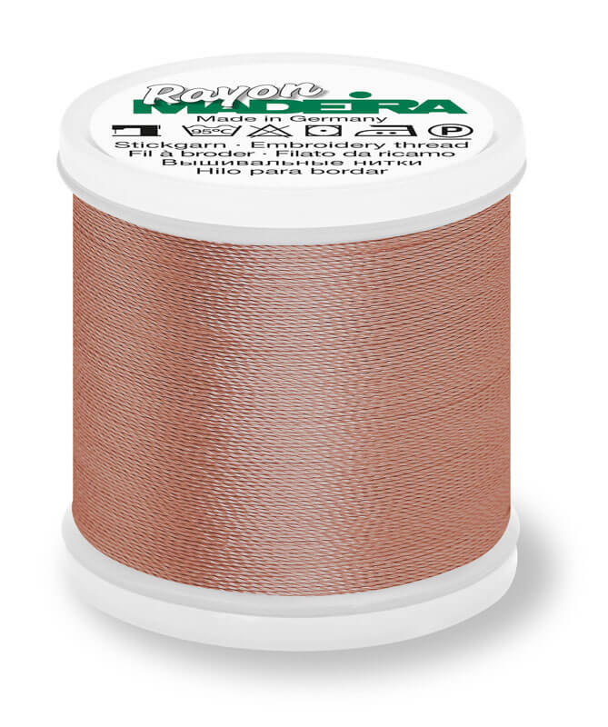 MADEIRA RAYON 40 1000M MACHINE EMBROIDERY THREAD 1054