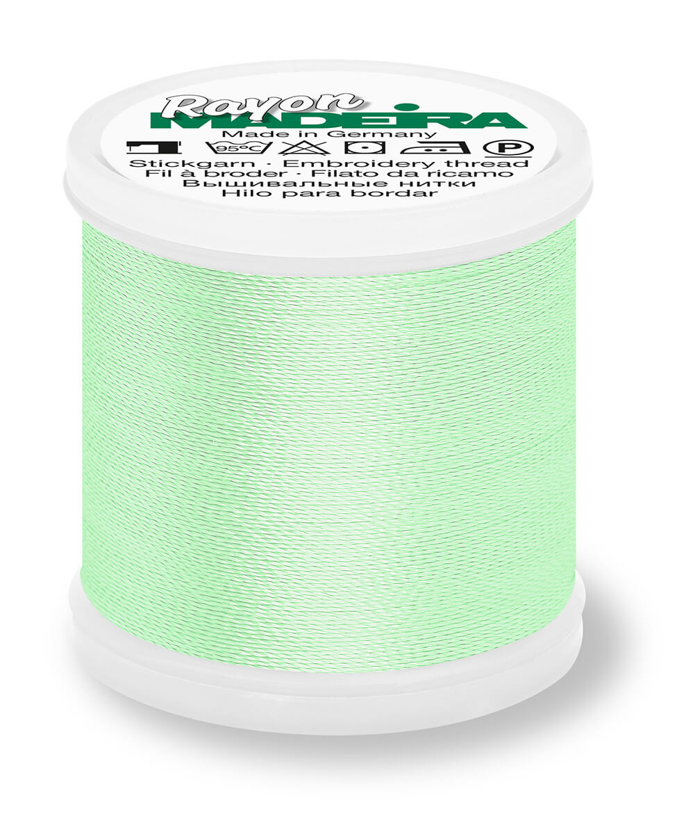MADEIRA RAYON 40 1000M MACHINE EMBROIDERY THREAD 1100