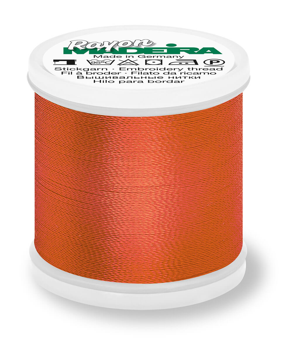 MADEIRA RAYON 40 1000M MACHINE EMBROIDERY THREAD 1221