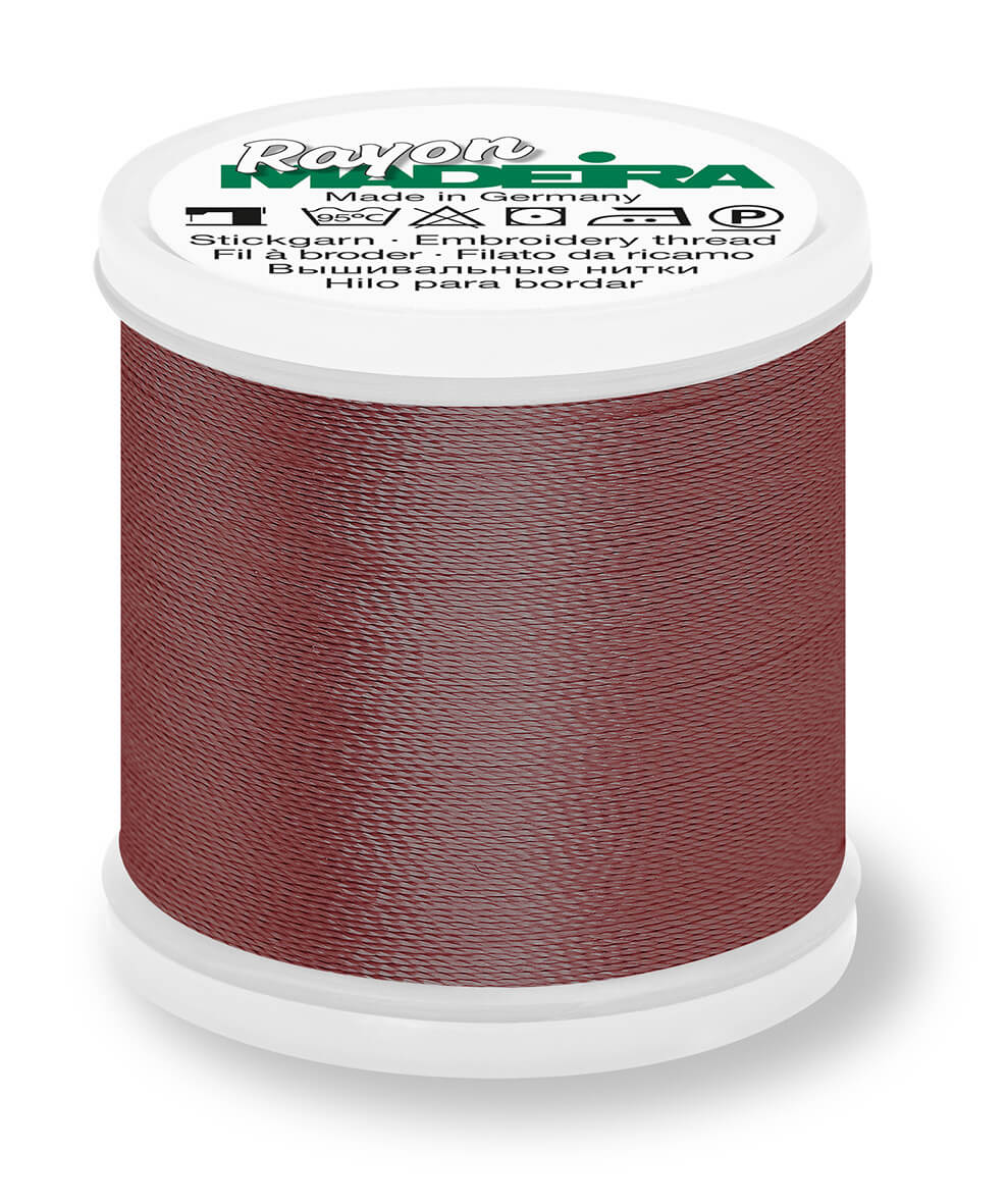 MADEIRA RAYON 40 1000M MACHINE EMBROIDERY THREAD 1358