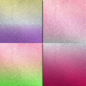 Glitter Ombre Digital Paper Pack