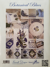 Load image into Gallery viewer, Botanical Blues Pattern Book + CD by Tracey Sims
