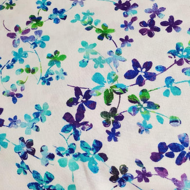 Studio E Fabrics Watercolour Meadow Blue 108