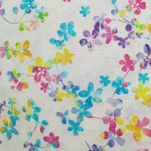Studio E Fabrics Watercolour Meadow Rainbow 108""