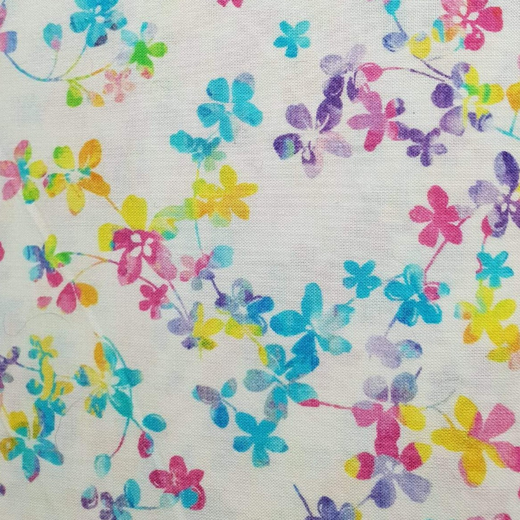 Studio E Fabrics Watercolour Meadow Rainbow 108