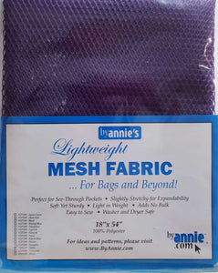 "Lightweight Mesh Fabric 18"" x 54"" - Tahiti"