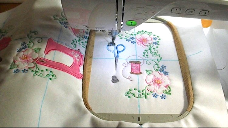 Machine Embroidery (Tuesday Morning)