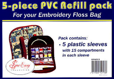 Sew Easy 5 Piece PVC Refill Pack