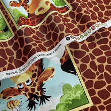Load image into Gallery viewer, Susybee Zoe the Giraffe Quilt Panel #SB20255-280