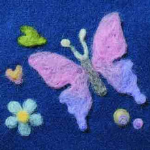 Load image into Gallery viewer, Needle Felting Applique Mould Butterfly Design