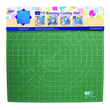 Load image into Gallery viewer, Birch Rotating Cutting Mat 17 inch x 17 inch
