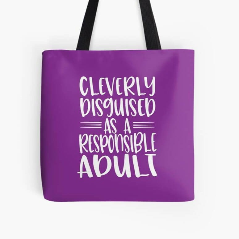Cleverly Disguised Tote Bag