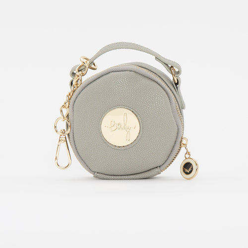 Birdy Jewelry Case | Grey • Gold
