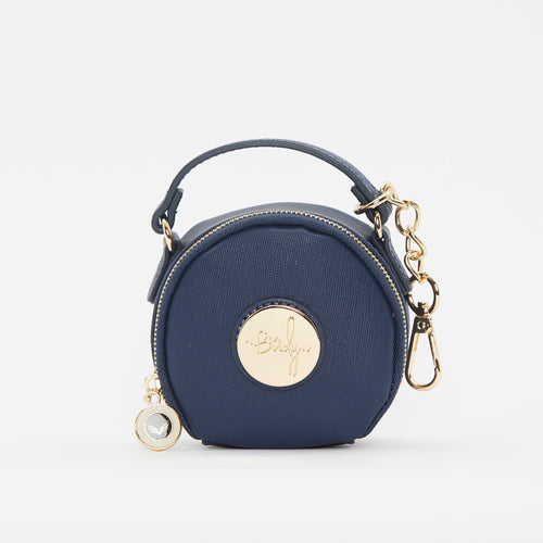 Birdy Jewelry Case | Navy • Gold