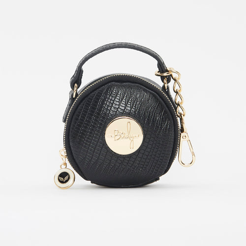 Birdy Jewelry Case | Black • Gold