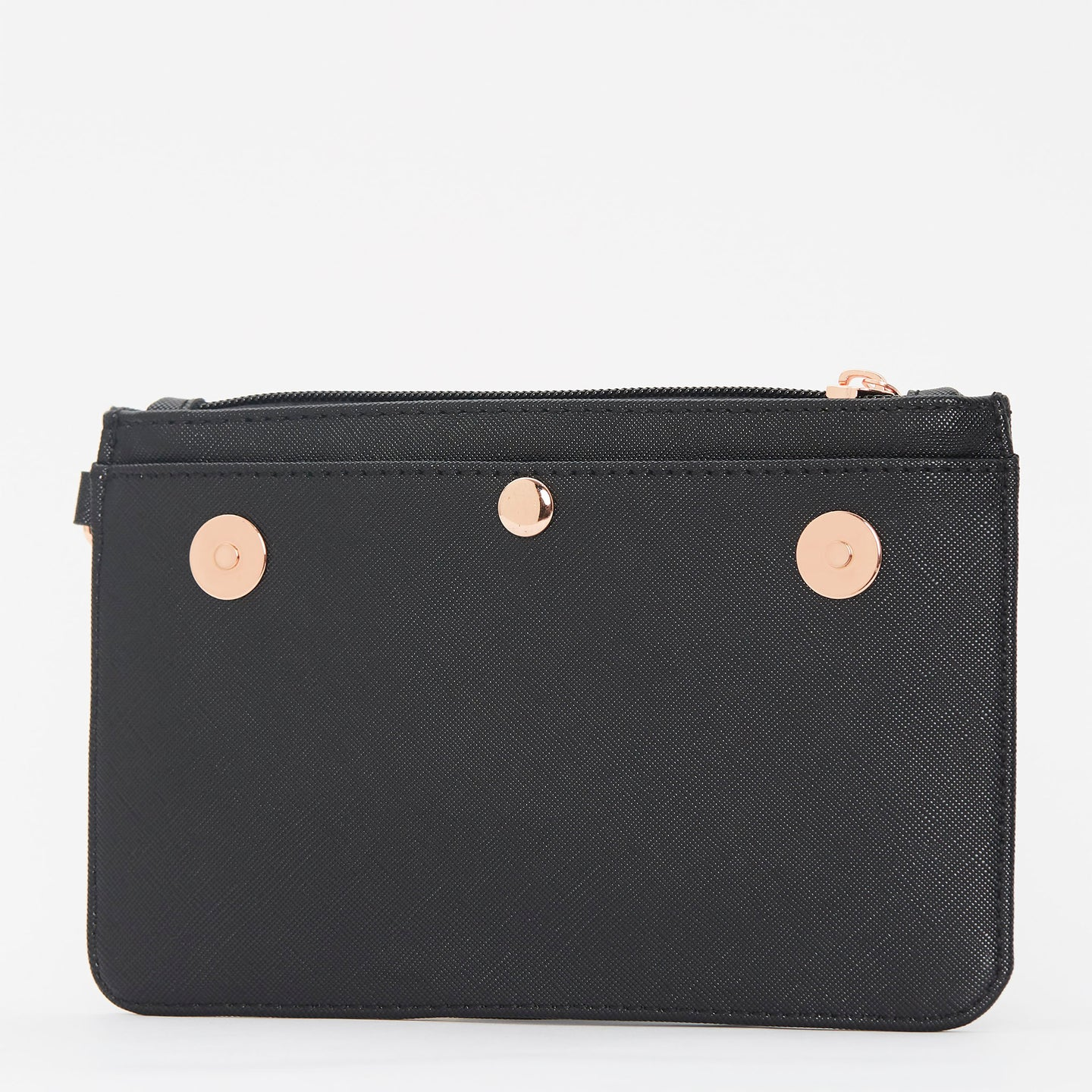 Birdy Wristlet Clutch | Black • Rose