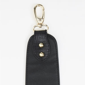 Birdy Shoulder Strap | Black • Gold