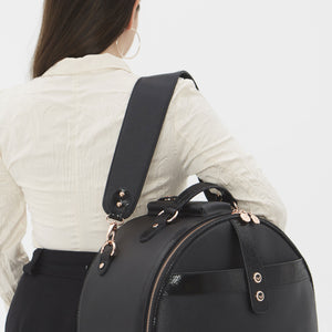 Birdy Shoulder Strap | Black • Rose