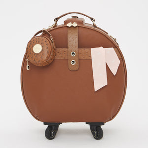 Birdy Jewelry Case | Cognac • Gold