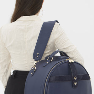 Birdy Shoulder Strap | Navy • Gold