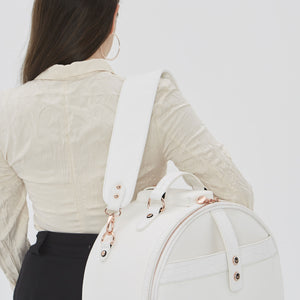 Birdy Shoulder Strap | Snow • Rose