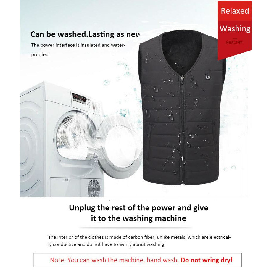 Winter Electric Heating Vest (120-Day Money Back Guarantee)
