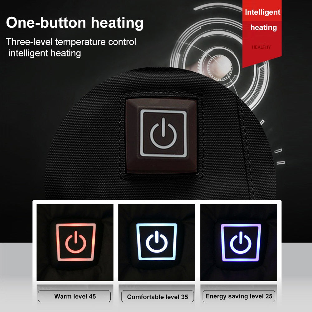 Smart USB Electric Heated Jacket (120-Day Money Back Guarantee)
