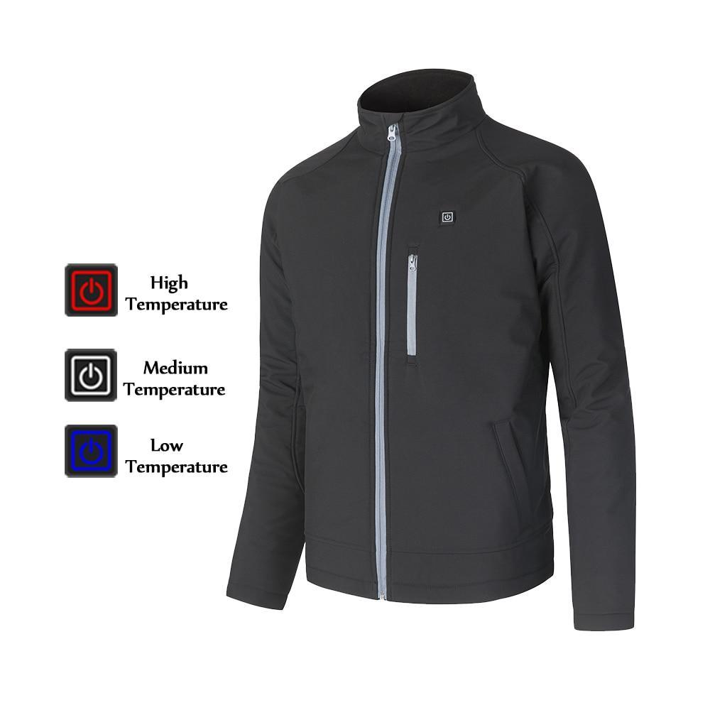 USB Charging Electric Heated Winter Jacket (120-Day Money Back Guarantee)