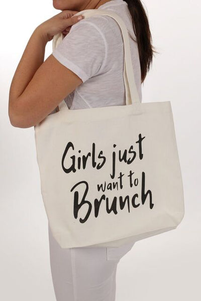 Girls Just Want To Brunch Tote