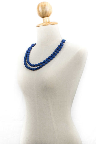 Two Strand Silk Necklace