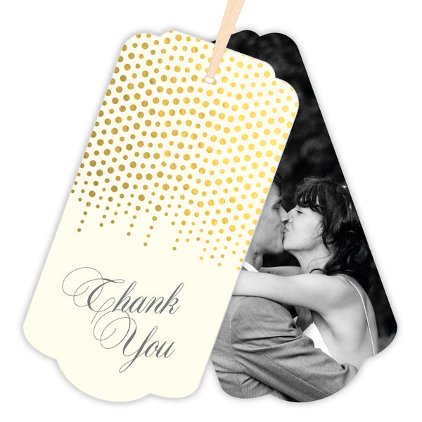 Corinthia Thank You Luggage Tag, 3 colour options