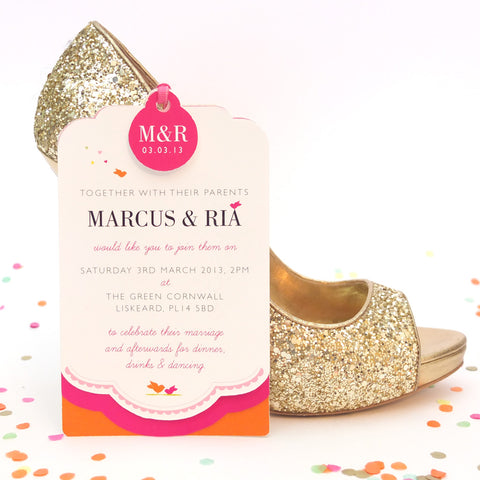 Luxe Invitation, Cute as Candy Jewel