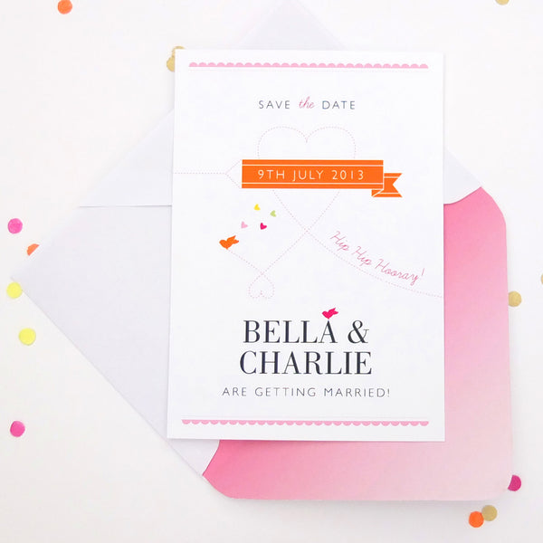Save the Date Cute as Candy Jewel