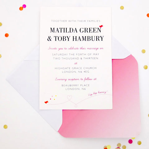 Supa Simple Invitation, Cute as Candy Jewel