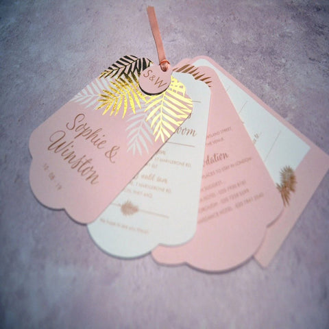 Sample - Palms Luxe Invitation Suite
